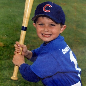 Image: A childhood photo of victim Christopher Ross Michael-Martinez who was killed in Saturday night's rampage