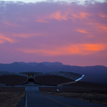 Image: Spaceport America in New Mexico is ready for Virgin Galactic to move in and begin operations.