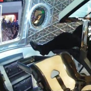 Image: Musk inside Dragon