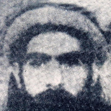 Image: A photograph allegedly shows Mullah Mohammed Omar