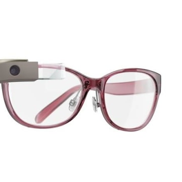 Google Glass and Diane von Furstenberg
