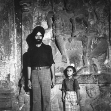 Image: Waris and his father