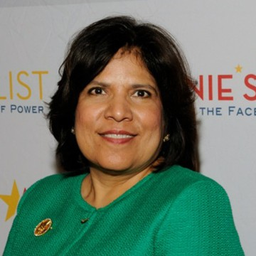 Image: Grace Garcia, who previously worked for President Clinton and later Secretary of State Hillary Clinton and was the executive director of Annie's List, died following a car accident in Texas