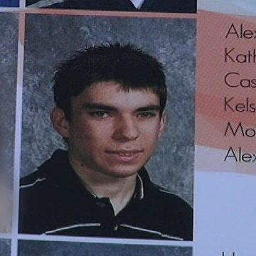 Image: A photo of Alex Hribal, who authorities say stabbed fellow students at his school in April, was  included in the yearbook.