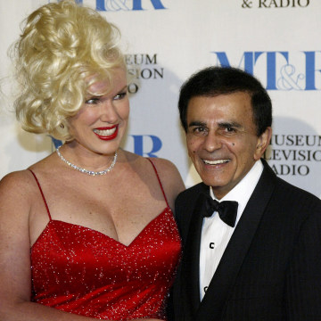 Image: Jean and Casey Kasem in 2003