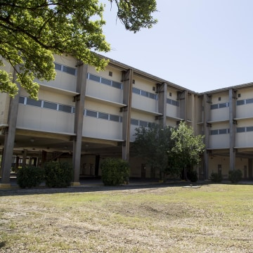 Image: The Joint Base San Antonio Lackland shelter on May 16