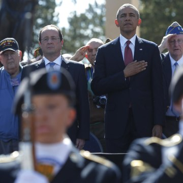 Image: Barack Obama and Francois Hollande