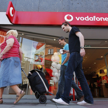 Image: Vodafone store