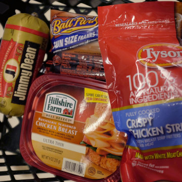Tyson Foods wins bid For Hillshire Brands.