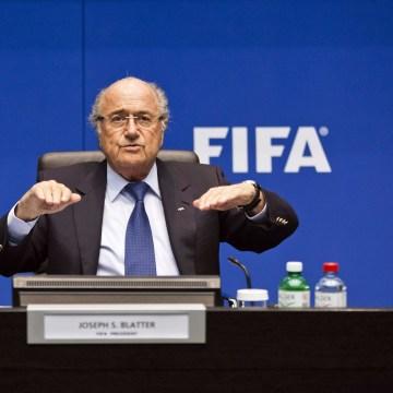 Image: FIFA president Sepp Blatter