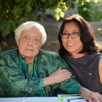 Grace Lee Boggs and Director Grace Lee.