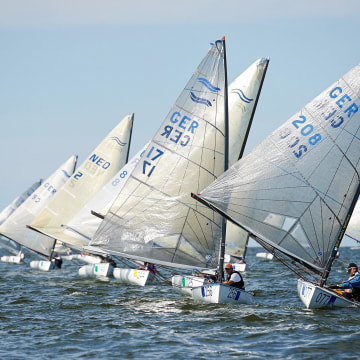 Image: World Championship Masters in Finn
