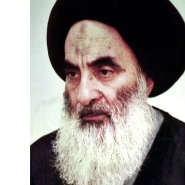 Image: Grand Ayatollah Ali al-Husseini al-Sistani