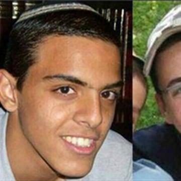 Image: Eyal Yifrach, Gilad Shaar, Naftali Fraenkel