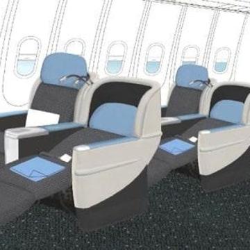 Image: La Compagnie jet interior