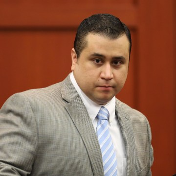 Image: George Zimmerman in court in July 2013, in Sanford, Fla.