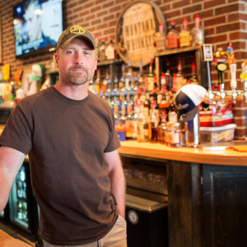 Image: Terry Pawlowski owns Round Towne, a restaurant and bar