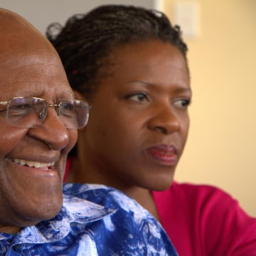 Image: Desmond and Mpho Tutu.
