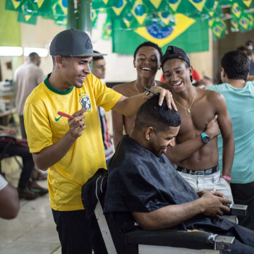 Image: Brazilian football player Neymar