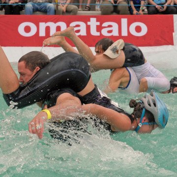 Image: Wife Carrying World Championships in Sonkajaervi, Finland
