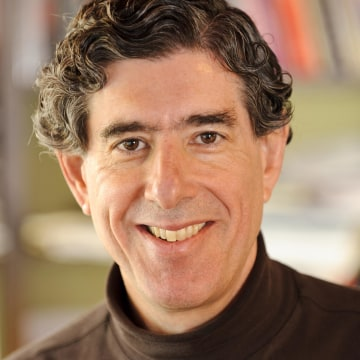 Image: University of Wisconsin-Madison neuroscientist Richard Davidson in his home office on March 13, 2012