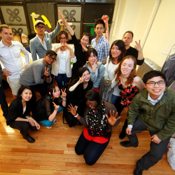 Image: Members meet up weekly on Wednesdays at the NY Study Café in Koreatown