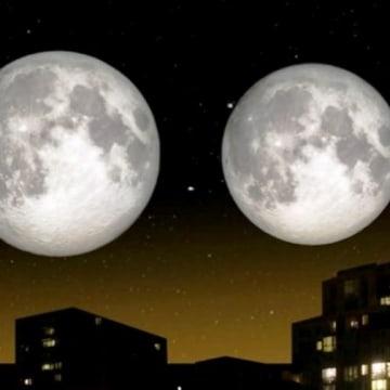 Image: Supermoon and mini-moon