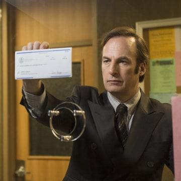 Image: Bob Odenkirk as Saul Goodman in 'Better Call Saul'
