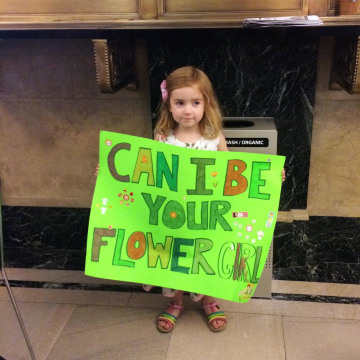 Image: Annabelle Earl, 4, of Brooklyn