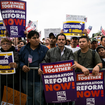 Image: Activists From Across The Country Hold March For Immigration Reform