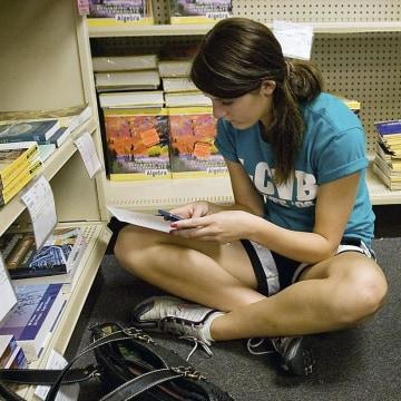Image: Community college student