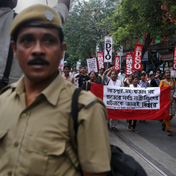 Image: Protest over gang rape in India
