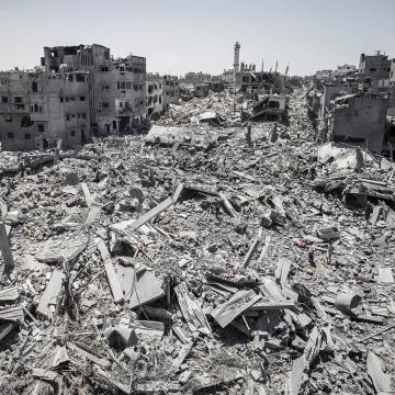 Image: Destruction in Gaza City