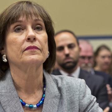Image: Lois Lerner of the Internal Revenue Service in 2013.