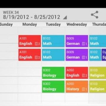 Image: My Class Schedule app