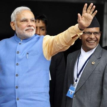 Image: NEPAL-INDIA-POLITICS-DIPLOMACY