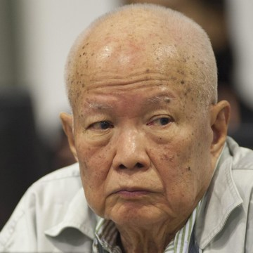 Image: Former Khmer Rouge Head of State Khieu Samphan