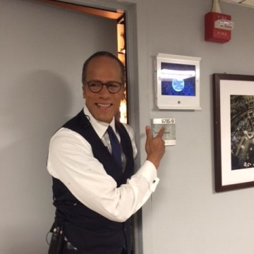 "Lester Holt joins  ""The Tonight Show"""