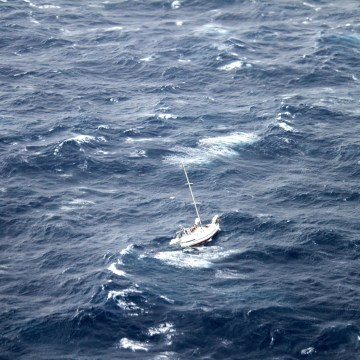 Rescue underway for sailboat caught in Hurricane Julio