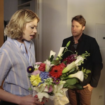 Image: Analeigh Tipton and Jake McDorman in 'Manhattan Love Story'