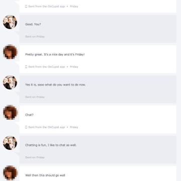 OKCupid Conversation