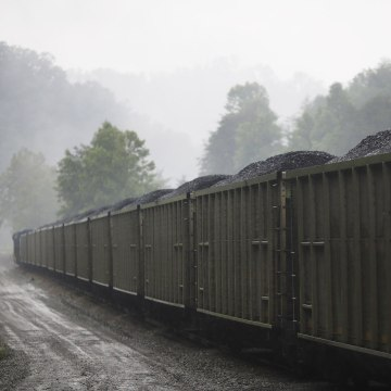 Image: CSX Transportation coal train