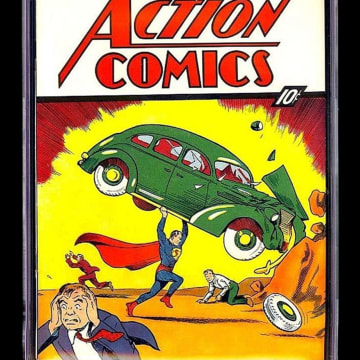 Image: A rare copy of Action Comics #1 – which features the first appearance of Superman – sold for a jaw-dropping $3.2 million on eBay