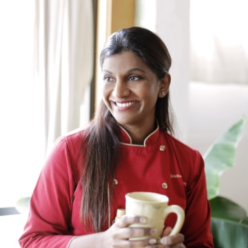 Chef Christina Arokiasamy