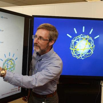 Image: Scott Spangler, principal data scientist, IBM Watson Innovations