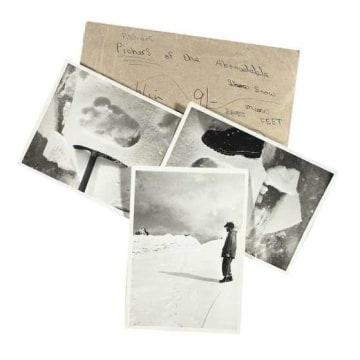 Image: Supposed Yeti footprint photos