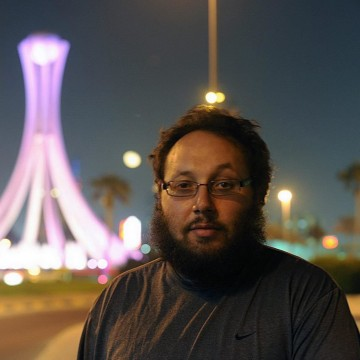 Image: Journalist Steven Sotloff in Bahrain in 2010