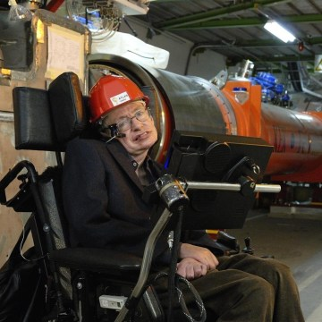 Image: Hawking at LHC