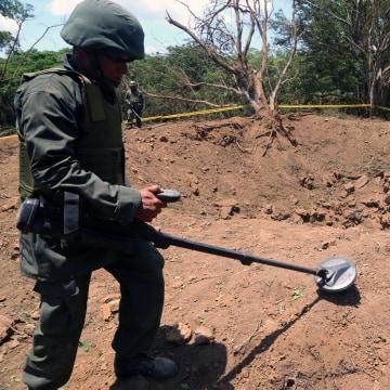 Image: Nicaraguan crater