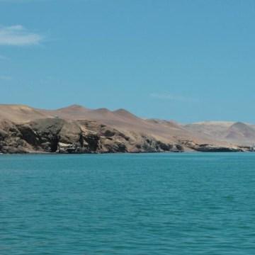 Image: Paracas, a desert reserve located near Las Islas Ballestas.
